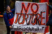 Anti-Torture Rally Chicago Illinois 1-11-13