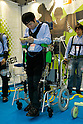 Active Walker Koba Lab during a demonstration at the International Robot Exhibition in Tokyo on November 27, 2009. 200 robot companies and institutes exhibit their latest robot technologies during a four-day exhibition (photo Laurent Benchana/Nippon News).