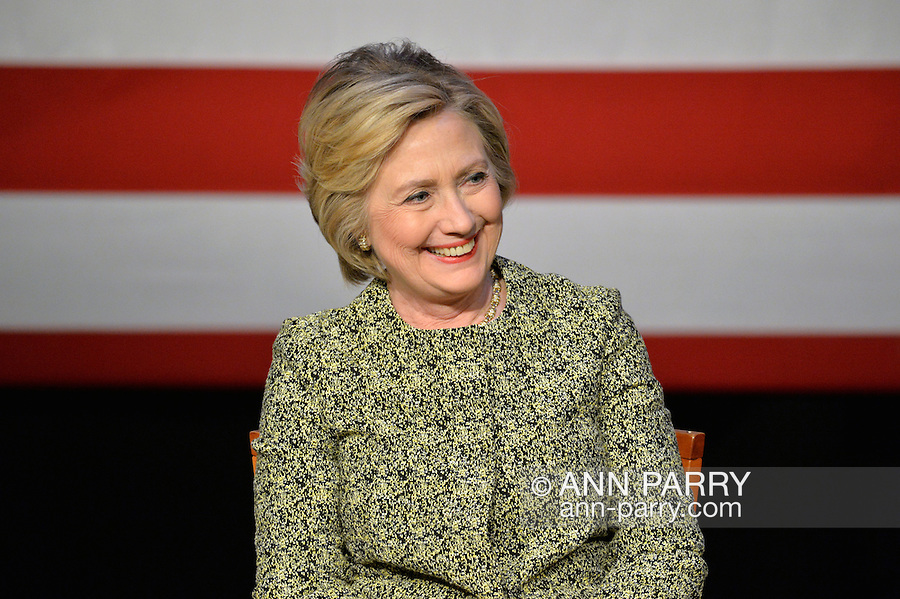 Hillary Clinton Discussion on Gun Violence Prevention