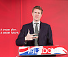 Labour Party Education manifesto launch at Microsoft, London, Great Britain <br /> 9th April 2015 <br /> <br />  General Election Campaign 2015 <br /> <br /> <br /> Tristram Hunt <br /> Shadow education minister <br /> <br /> <br /> Photograph by Elliott Franks <br /> Image licensed to Elliott Franks Photography Services