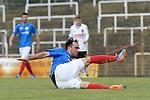 Niko Pavic #14 of VfR Mannheim im Spiel des VfR Mannheim - FC Germania Friedrichstal.<br /> <br /> Foto &copy; P-I-X.org *** Foto ist honorarpflichtig! *** Auf Anfrage in hoeherer Qualitaet/Aufloesung. Belegexemplar erbeten. Veroeffentlichung ausschliesslich fuer journalistisch-publizistische Zwecke. For editorial use only.