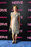 NEW YORK, NY-July 12: Rebecca Fourteau  at Lionsgate presents the World Premiere of NERVE   at SVA Theater in New York. NY July 12, 2016. Credit:RW/MediaPunch