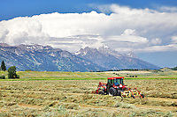 Farming in Jackson Hole Wyoming