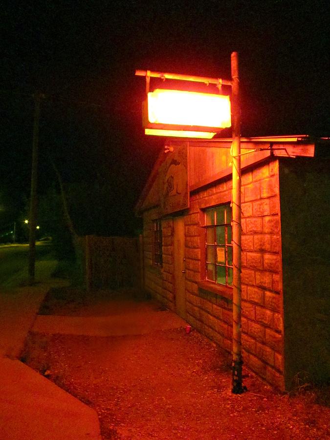 Marfa, Texas Dive bar in Marfa, Texas