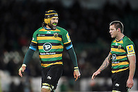 Victor Matfield of Northampton Saints looks on during a break in play. Aviva Premiership match, between Northampton Saints and Gloucester Rugby on November 27, 2015 at Franklin's Gardens in Northampton, England. Photo by: Patrick Khachfe / JMP