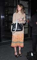 NEW YORK, NY April .18, 2017 Rose Bryne going to CBS This Morning  to talk about new movie The Immortal Life of Henrietta Lacks  in New York April 18,  2017. <br /> CAP/MPI/RW<br /> &copy;RW/MPI/Capital Pictures