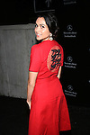 """Power"" Actress Lela Loren Wearing Vivienne Tam After the MBFW Spring 2015 NY Vivienne Tam at Lincoln Center"