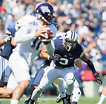 _88R4143..2012 FTB vs Weber State University..BYU - 45.Weber State - 6. .Photo by Jaren Wilkey/BYU..September 8, 2012..© BYU PHOTO 2012.All Rights Reserved.photo@byu.edu  (801)422-7322
