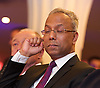 Lutfur Rahman <br /> Mayor of Tower Hamlets<br /> support rally in Mile End Road, east London, Great Britain <br /> 12th November 2014 <br /> <br /> Mayor Lutfur Rahman <br /> <br /> ex mayor of London <br /> Ken Livingstone<br /> <br /> <br /> <br /> <br /> Photograph by Elliott Franks <br /> Image licensed to Elliott Franks Photography Services
