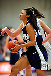 31 January 2010: University of New Hampshire Wildcats' forward Candace Williams, a Senior from Norfolk, MA, in action against the University of Vermont Catamounts at Patrick Gymnasium in Burlington, Vermont. The Lady Catamounts defeated the visiting Wildcats 78-64. Mandatory Credit: Ed Wolfstein Photo