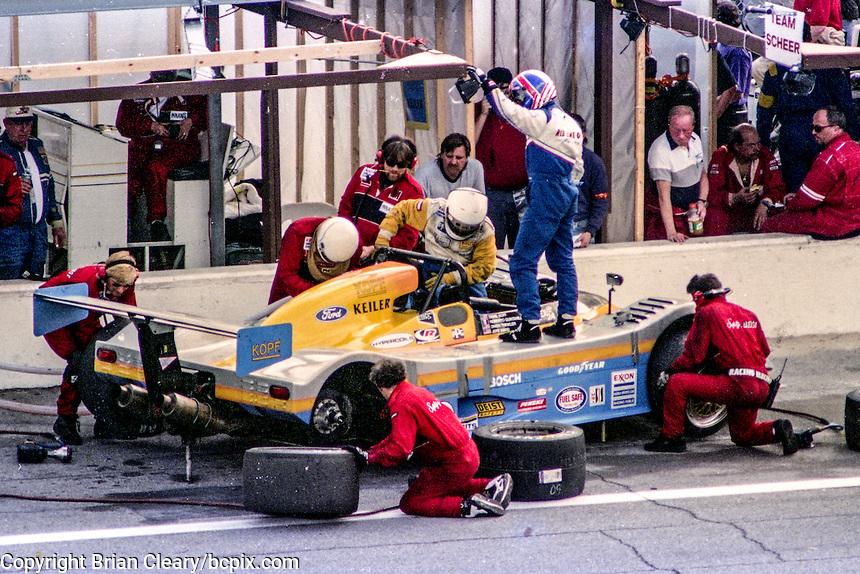 #60 Keiler KII Ford,  David Kopf, Jeff Ward, Roberto Quintanilla, Owen Trinkler, 52nd place finisher,  24 Hours of Daytona, Daytona International Speedway, Daytona Beach, FL. , February 2, 1997.   (Photo by Brian Cleary/bcpix.com)