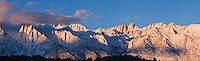 Sunrise over Mt. Whitney, Sierra Nevada mountains, California