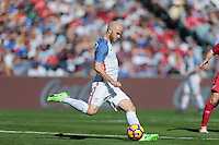 San Diego, CA - Sunday January 29, 2017: Michael Bradley during an international friendly between the men's national teams of the United States (USA) and Serbia (SRB) at Qualcomm Stadium.