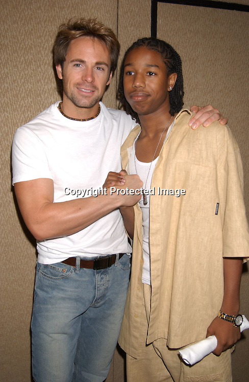 and Michael B Jordan                             ..William de Vry..at the All My Children Fan Club Luncheon on August 10,2003 at the Marriott Marquis Hotel in NYC. Photo by Robin Platzer, Twin Images