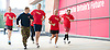 Labour Party Conference <br /> at Manchester Central, Manchester, Great Britain <br /> 23rd September 2014 <br /> <br /> Army bootcamp warm up session with conference delegates<br /> <br /> <br /> <br /> <br /> <br /> Photograph by Elliott Franks <br /> Image licensed to Elliott Franks Photography Services