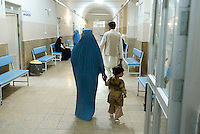 The main hospital in Herat City which serves the entire province.