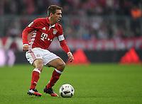 Fussball  1. Bundesliga  Saison 2016/2017  14. Spieltag  FC Bayern Muenchen - VfL Wolfsburg    10.12.2016 Philipp Lahm (FC Bayern Muenchen)