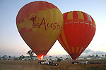 20110817 Wednesday August 17 Gold Coast Hot Air ballooning