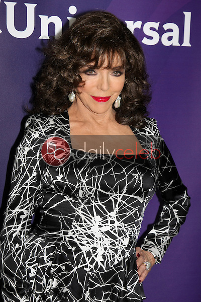 Joan Collins<br /> at the NBCUniversal's 2015 Winter TCA Tour Day 1, Langham Huntington Hotel, Pasadena, CA 01-15-15<br /> David Edwards/Dailyceleb.com 818-249-4998