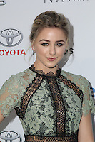 BURBANK, CA - OCTOBER 22: Chloe Lukasiak attends the Environmental Media Association 26th Annual EMA Awards Presented By Toyota, Lexus And Calvert at Warner Bros. Studios on October 22, 2016 in Burbank, California (Credit: Parisa Afsahi/MediaPunch).