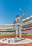 22 August 2015: Milwaukee Brewers outfielder Ryan Braun stands on deck during the first inning against the Washington Nationals at Nationals Park in Washington, DC. The Nationals defeated the Brewers 6-1 in the second game of their 3-game weekend series. Mandatory Credit: Ed Wolfstein Photo *** RAW (NEF) Image File Available ***