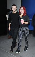 NEW YORK, NY November 23: James Hinchcliffe, Shams Burgess of Dancing with Stars 2016 at Good Morning America in New York City.November 23, 2016. Credit:RW/MediaPunch