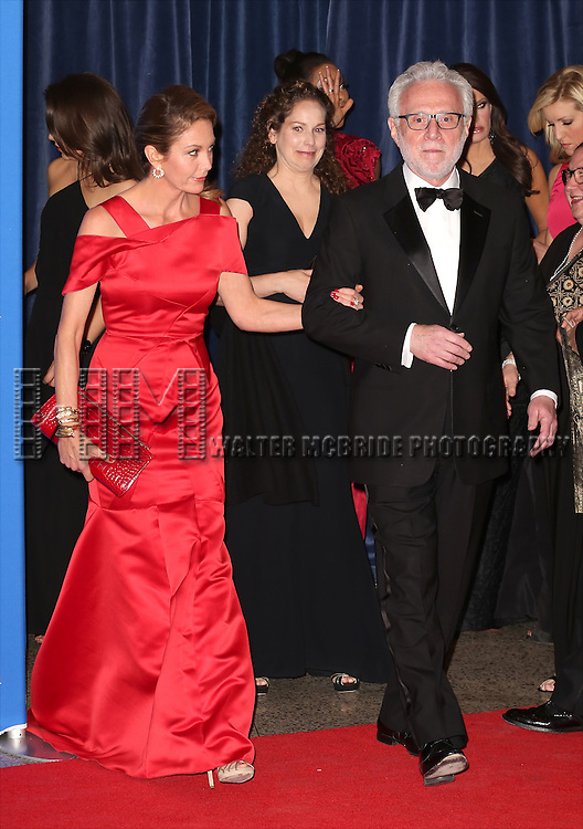 Diane Lane and Wolf Blitzer attends the 100th Annual White House Correspondents' Association Dinner at the Washington Hilton on May 3, 2014 in Washington, D.C.