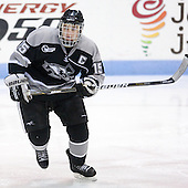 Kyle MacKinnon (Providence - 15) - The Northeastern University Huskies defeated the visiting Providence College Friars 5-0 on Saturday, November 20, 2010, at Matthews Arena in Boston, Massachusetts.