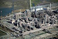 aerial photography Chevron Richmond Refinery, Richmond, California