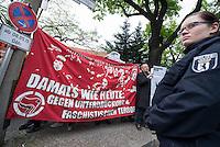2015/05/08 Berlin | Protest gegen NPD-Kundgebung