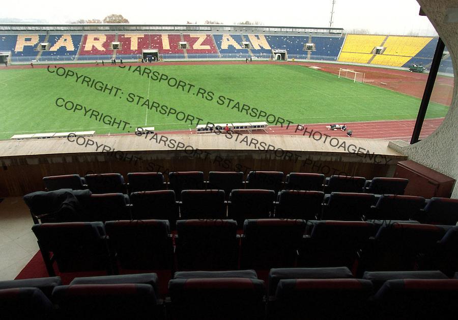 SPORT FUDBAL PARTIZAN&amp;#xA;&amp;#xA;&amp;#xA;&amp;#xA;foto: Pedja Milosavljevic&amp;#xA;&amp;#xA;6.11.2003.&amp;#xA;&amp;#xA;Stadion<br />