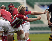 2006, Powergen Cup, Twickenham, Alix Popham, London Wasps vs Llanelli Scarlets, ENGLAND, 09.04.2006, 2006, , © Peter Spurrier/Intersport-images.com.   [Mandatory Credit, Peter Spurier/ Intersport Images].