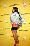 Angela Simmons Wearing Ron Bass jacket at Pharrell Williams 41st Spongebob Square Pants Theme Birthday  Celebration at Cipriani Wall Street, NY