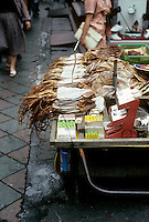 So. Korea: Pusan--Dried squid in market place. Photo '81.