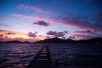 Sunset from Turtle Island, Yasawa Islands, Fiji