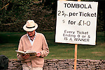 'ENGLISH VILLAGE FETE', THE TOMBOLA STALL.,