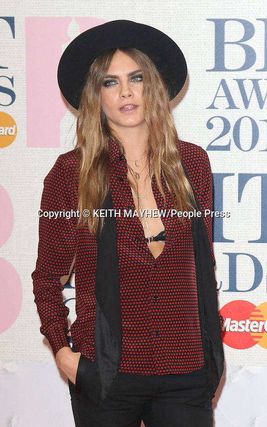 The Brit Awards Red Carpet Arrivals at 02 Arena, London on February 25th, 2015 <br /> <br /> Photo by Keith Mayhew