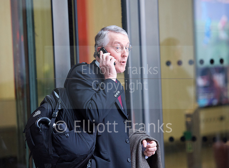 Hilary Benn <br /> BBC, Broadcasting House, london, Great Britain <br /> 5th March 2017 <br /> <br /> Hilary Benn <br /> <br /> Photograph by Elliott Franks <br /> Image licensed to Elliott Franks Photography Services