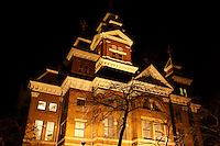 Old City Hall building, part of the Whatcom Museum complex, Bellingham, Washington State, USA              .      .