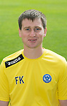 St Johnstone FC 2013-14<br /> Fearghal Kerin, Head Physio<br /> Picture by Graeme Hart.<br /> Copyright Perthshire Picture Agency<br /> Tel: 01738 623350  Mobile: 07990 594431