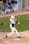 Vale junior Austin Dayton swings at a pitch during the first game of a doubleheader between Vale and Nyssa on April 15, 2011 at Nyssa High School. Dayton went 1 for 3 with a double as Vale won the game 4 to 1.