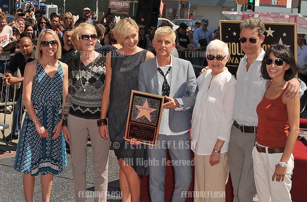 Portia de Rossi family