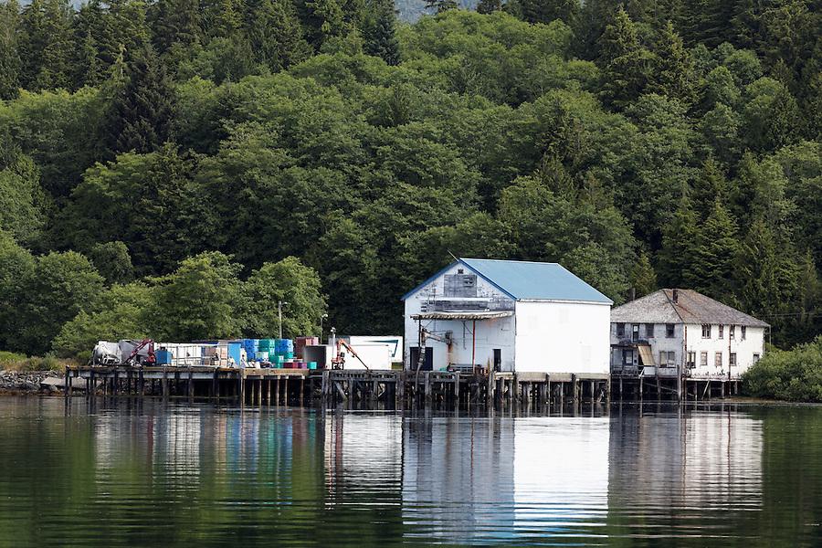 Fishing wharf, Ucluelet, Vancouver Island, Canada