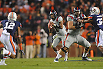 Ole Miss quarterback Randall Mackey (1) vs. Auburn at Jordan-Hare Stadium in Auburn, Ala. on Saturday, October 29, 2011. .