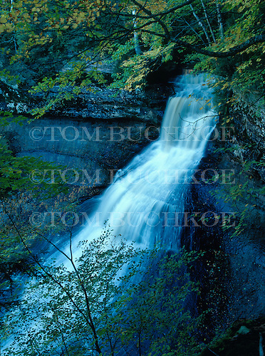 Chapel Falls, Pictured Rocks National Lakeshore, Alger county in Michigan's Upper Peninsula.