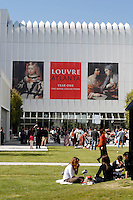 The pubic opening of Louvre Atlanta at the High Museum of Art. Over the next three years, the High Museum will feature hundreds of works of art from the Musée du Louvre in Paris.