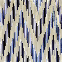Pamir, a jewel glass mosaic shown in Quartz, Iolite and Lapis Lazuli, is part of the Ikat Collection by New Ravenna Mosaics.