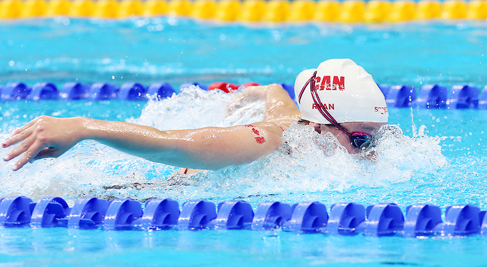 Rio de Janeiro-6/9/2016-Canadian swimmer Samantha Ryan trains at the Olympic Aquatics Stadium prior to the Paralympic Games in Rio. Photo Scott Grant/Canadian Paralympic Committee