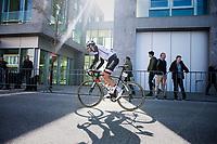 Bert de Backer (BEL/Sunweb) off to the start<br /> <br /> 79th Gent-Wevelgem 2017 (1.UWT)<br /> 1day race: Deinze &rsaquo; Wevelgem - BEL (249km)