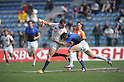 APRIL 1, 2012 - Rugby : APRIL 1, 2012 - Rugby : HSBC Sevens World Series Tokyo Sevens 2012, France 17-12 USA at Chichibunomiya Rugby Stadium, Tokyo, Japan. (Photo by Atsushi Tomura /AFLO SPORT) [1035]